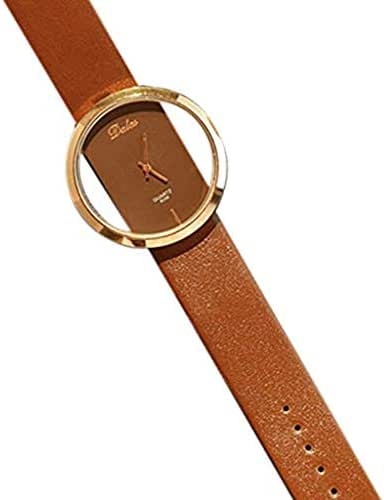 LUXISDE Women's Wrist Watches A Fashion Men's Women's Classic Casual Quartz Watch Leather Watches