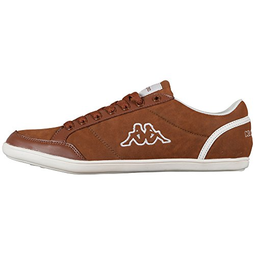 Kent Marrone 241642 Kappa white Uomo 5410 Low Sneaker Cognac p1FWSvHa