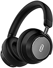 Noise Cancelling Bluetooth Headphones, TaoTronics [2019 New Version] Hybrid Active Noise Cancelling Soundsurge 46 Over ear Headphones with Audio Deep Bass, Quick Charge, 30 Hours playtime