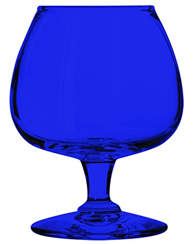 Libbey Citation Libbey 8402 Citation 6 oz. Brandy Glass Single - Full Color Cobalt Blue - Additional Vibrant Colors Available by TableTop King