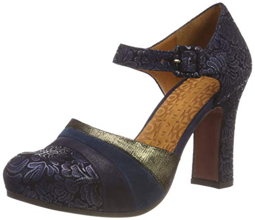 Women's Mihara Deluxe Mary Marga Navy ante Blau Chie Janes d5xwFq