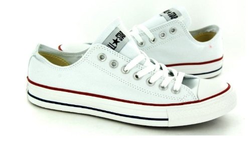 Converse All Star Ox Menns Joggesko Stil # M7652 (6,5, Hvit)