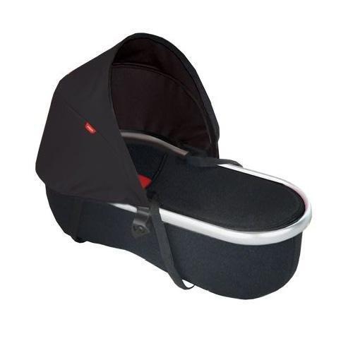 Peanut Vibe Stroller Bassinet Color: Black and Black