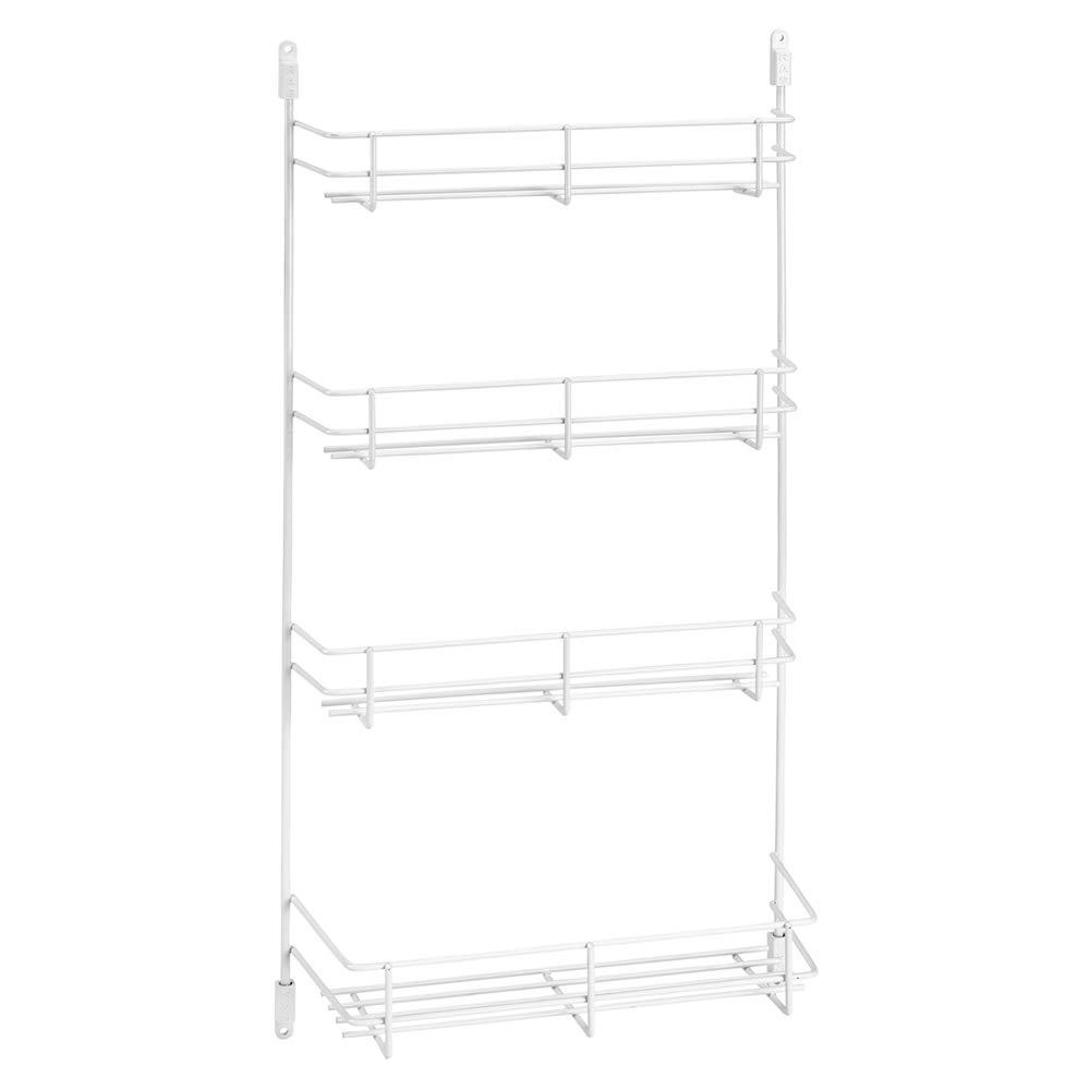 "Rev-A-Shelf 10"" Door Mount Wire Spice Rack - White"
