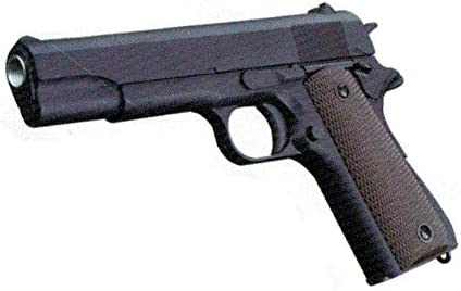 GOLDEN EAGLE Pistola de Muelle 1911 A1 Color Negro