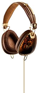 Skullcandy Aviator - Auriculares color marrón/oro