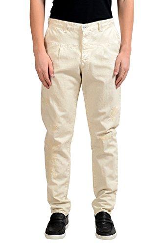 C'N'C Costume International Men's Distressed Casual Pants US 34 IT 50