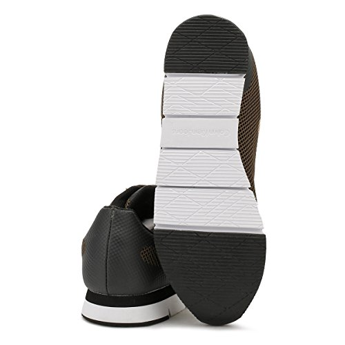 Sneaker Noir Uomo Mesh Klein Jacques Calvin HF 17TwqIgxUx