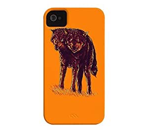 iphone covers 2heads Iphone 5 5s Apple Orange Barely There Phone Case - Design By Humans