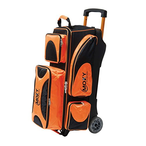 Moxy Deluxe 3 Ball Roller Bowling Bag by Moxy