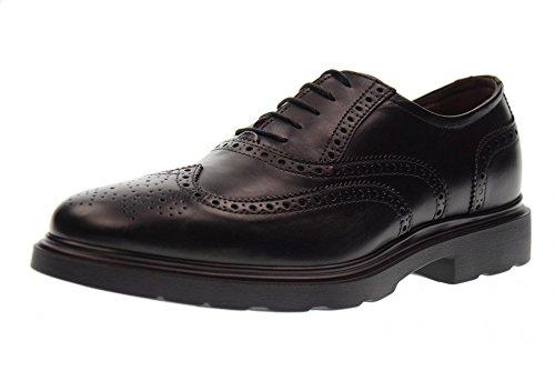 homme A705283U GIARDINI NOIR 100 Black chaussures lacées NERO BZRvnx