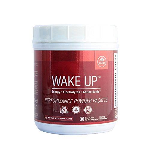 Konared  Wake Up Performance Powder Packets  1 Tub W  30 Packets