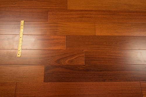 Santos Mahogany Prefinished Engineered 5 X 1 2 Wood Flooring W 3mm Wear Layer Samples At Discount Prices By Hurst Hardwoods