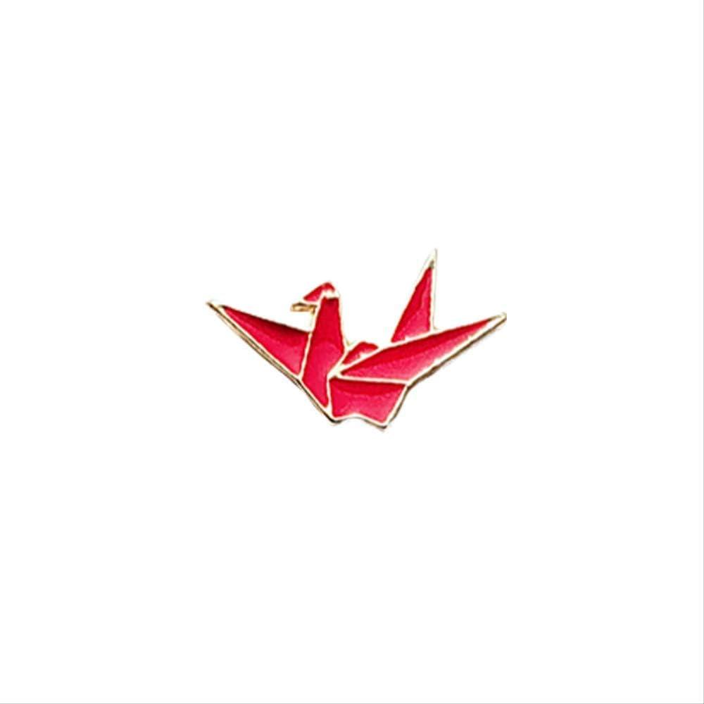 des milliers de Grue en Papier Broche b/én/édiction Souhait Badge Badge Pull col pin Sac Insigne Accessoires Cadeau