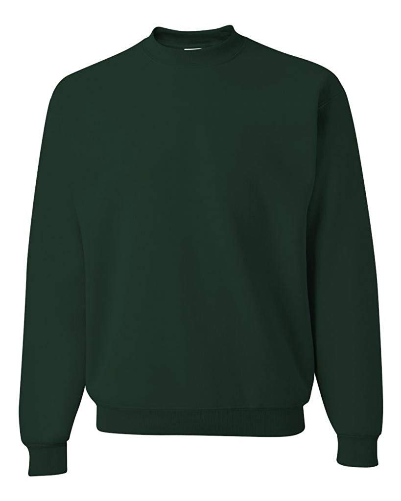 Jerzees 50/50 Men's NuBlend Crew Neck - Forest Green - XX-Large by Jerzees
