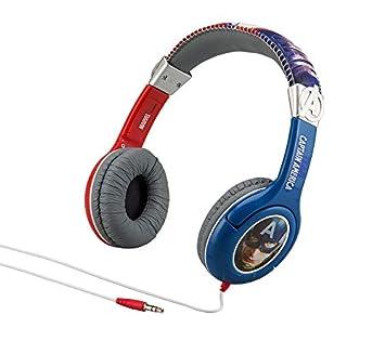 Auriculares para Niños Guerra Civil Capitán América Hombre de Hierro Niños Amable Auriculares Volumen Limitado en Auriculares para Niños (Guerra Civil): ...