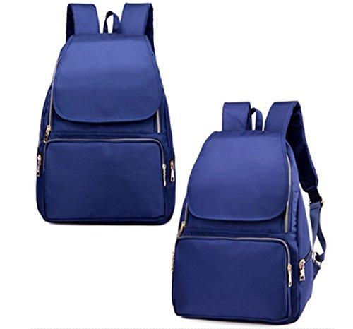 Damas bandoleras,bolso de la lona,bolsa de viaje,mochilas-Púrpura Azul