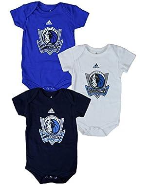 Dallas Mavericks NBA Infants Bodysuit Set