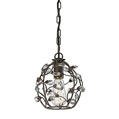 Elk Lighting 18141/1 Ceiling-Pendant-fixtures, Bronze