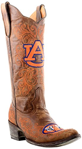 GAMEDAY BOOTS NCAA Auburn Tigers Women's 13-Inch, Brass, 6.5 B (M) US ()