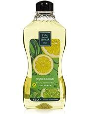 Eyüp Sabri Tuncer Doğal Zeytinyağlı Sıvı Sabun Çeşme Limonu 1,5 L Pet Şişe 1 Paket