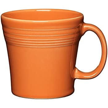 Amazon Com Fiesta Tapered Mug 15 Oz Tangerine Coffee