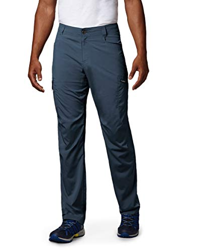 Columbia Men's Standard Silver Ridge Stretch Pants, Dark Mountain, 32 x 32