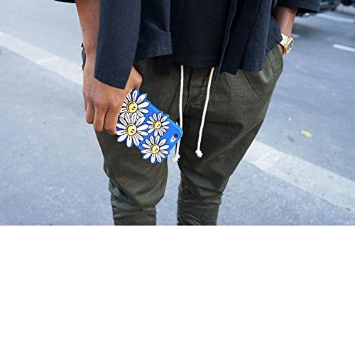 """Koala group*3d trendy vertikal Silikonhülle Körper Firebird / Sunflower / Softeis Schutzhülle Widerstand Sätze fallen Abdeckung hülle für iphone 6 plus /6s plus(5.5"""")-----Sonnenblume"""