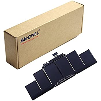 """Angwel 6Cell-10.95V-95WH Replacement Battery For Apple Macbook Pro 15"""" Retina A1398 A1417 With Two Free Screwdrivers -- 1 Year Warranty"""