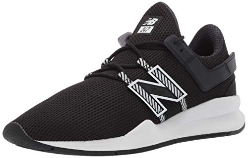 New Balance Men's 247v1 Deconstructed Sneaker Black/White 11.5 D US