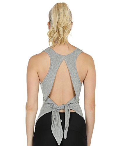 icyzone Sexy Yoga Tops Workout Clothes Racerback Tank Top For Sport Women...