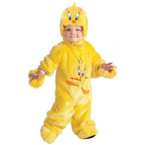 - Looney Tunes Tweety Bird Romper Costume, Yellow, 6-12 Months