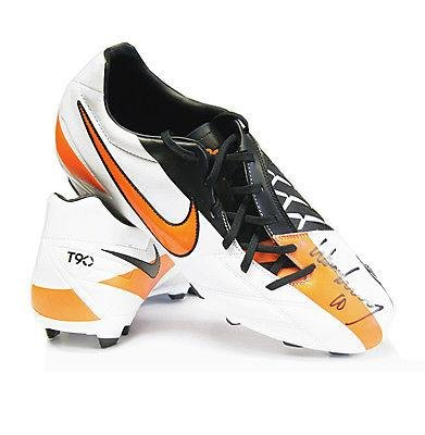 Wayne Rooney Hand Signed Football Boot - Nike T90 NOW ONLY 99 - Autographed  Soccer Cleats