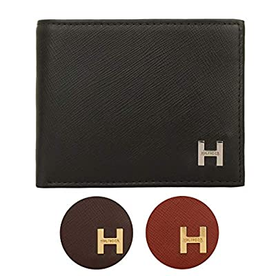 Tommy Hilfiger Men's TLX Leather Passcase Billfold Wallet