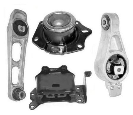 Mac Auto Parts 137194 Engine Motor Transmission Mount Kit Chrysler PT Cruiser 2.4L Auto Only (Chrysler Pt Cruiser Engine Motor)