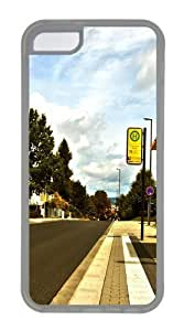 TYHde Bus Stop Shelter Custom iPhone 6 4.7 Case Cover TPU Transparent ending