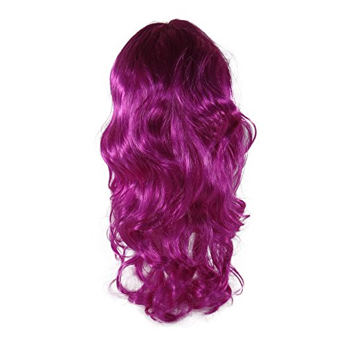 Missamé Purple Color Wig for Dress Up, Cosplay,