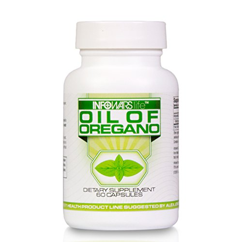 Oil of Oregano Supplement (60 Softgels) – Naturally Support The Body's Digestive System & Enhance Health