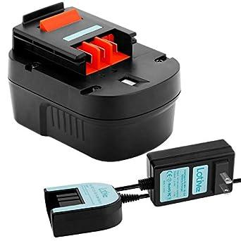 Amazon.com: Lotive 3000 mAh Ni-MH y 1,2 V-18 V cargador ...
