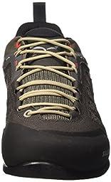 Salewa Men\'s Firetail 3 Tech Approach Shoe, Black Olive/Papavero, 9.5 M US