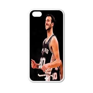 Exclusive Manu Ginobili plastic hard case skin cover for iPhone 5C AB939269 hjbrhga1544