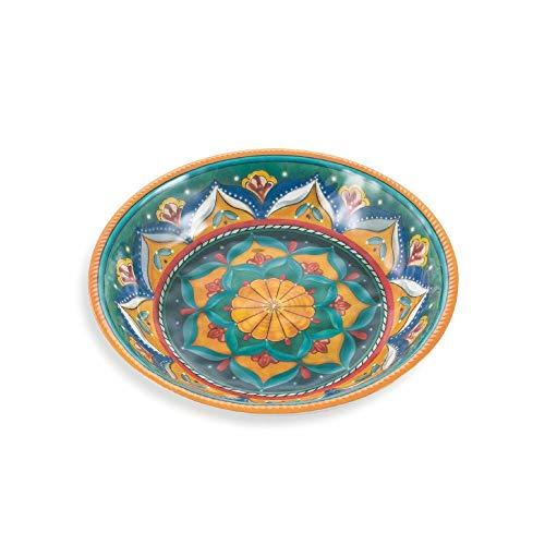 Villa D'Este Home Tivoli 2191685 Salad Bowl Set Melamine (Villa Deste Bowl)