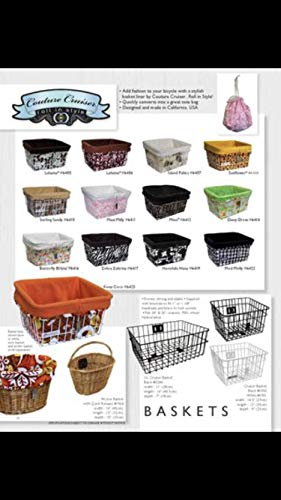 - Bike Basket Liner & Tote Bag in 1! by Couture Cruiser
