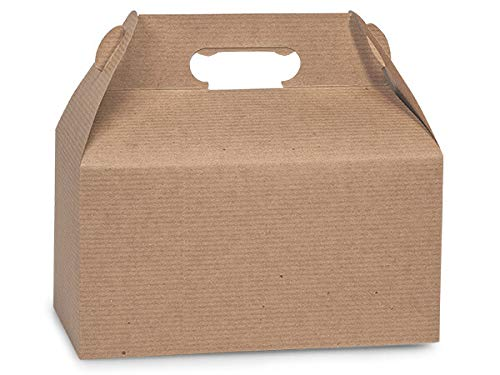 Gable Box 100 Count - Kraft -