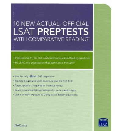 [ 10 New Actual, Official LSAT Preptests with Comparative Reading [ 10 NEW ACTUAL, OFFICIAL LSAT PREPTESTS WITH COMPARATIVE READING ] By Margolis, Wendy ( Author )Mar-01-2011 Paperback