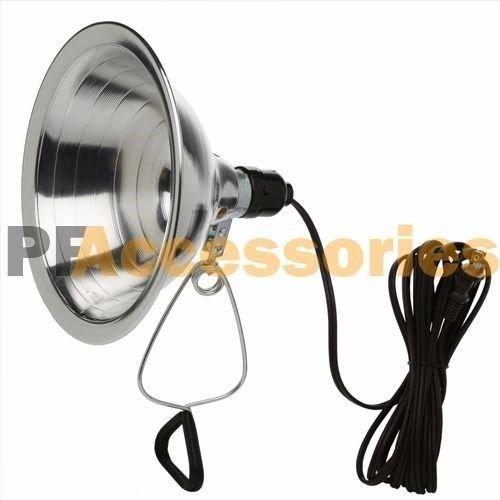 12 Pcs Heavy Duty 8-1/2 Aluminum Reflector Shade Clamp on Work Light Lamp ETL by Generic (Image #1)