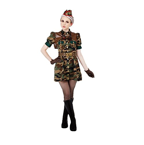Steampunk Fantasy/Adventure Style Soldier Costume - Teen/Women's XS/S Size -