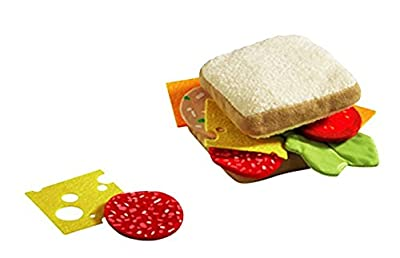 HABA Soft Biofino Sandwich- Play food