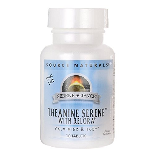 Source Naturals Theanine Serene with Relora Tablets, 10 Count Review