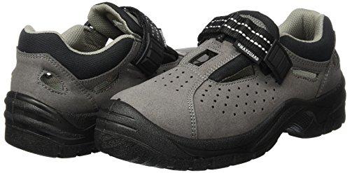 A170 Sandale grau S1P